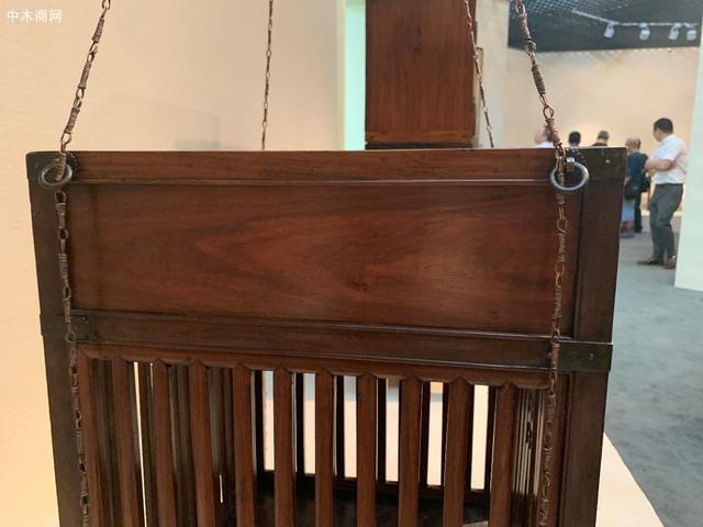 黄花梨竖棂格箱笼,明式家具传世孤品