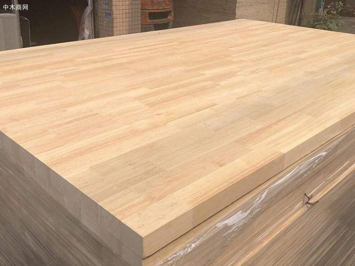 求购:橡胶木拼板,做木门用的