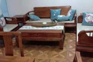 刺猬紫檀6件套沙发厂家直销