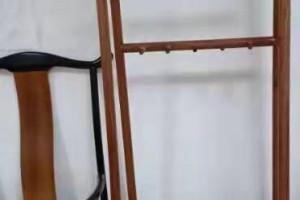 刺猬紫檀挂衣架厂家直销