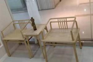 白蜡木3件套玫瑰椅子