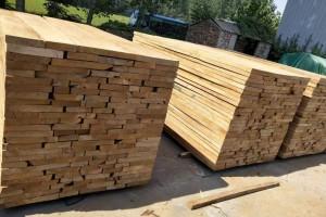 白杨木板材和白杨木烘干板材实物高清图片