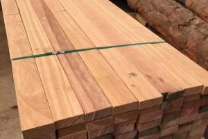 柳桉木唐木防腐木木方圆柱户外实木工厂直销可尺寸定制