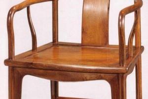 中国古典家具位尊高座靠背椅:官帽椅与禅椅