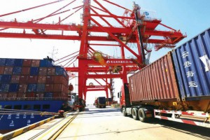江苏省大丰港扬帆起航再开通一国际集装箱班轮航线