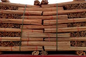 桉树旋切加工后剩下木芯有什么用途?