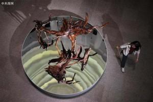 海南黄花梨艺术大展在福建博物院举行