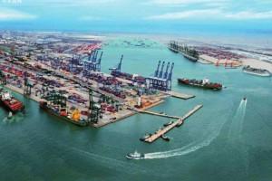 """""""一带一路""""成为天津港口对外贸易发展的新动力"""