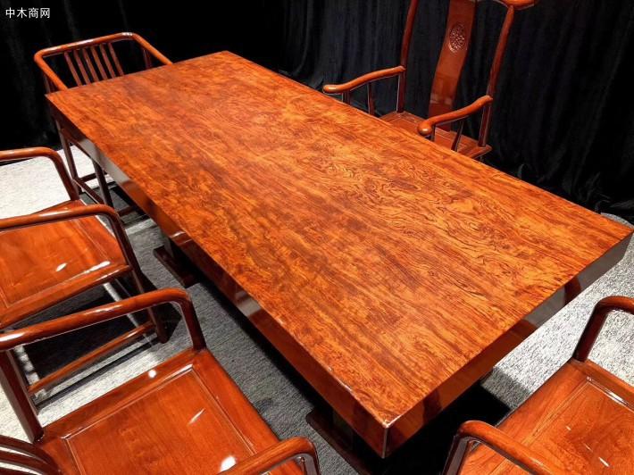 巴西花梨实木大板七件套产品