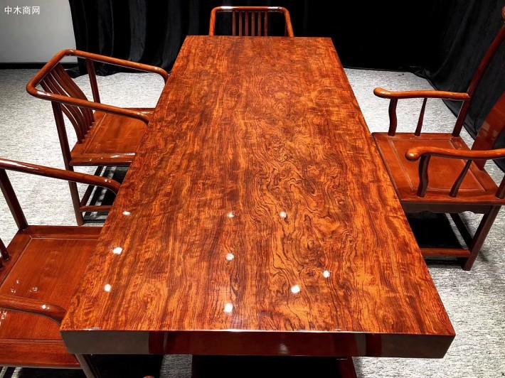 巴西花梨实木大板七件套多少钱