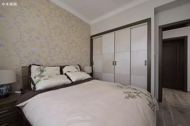 壁画床头墙图片