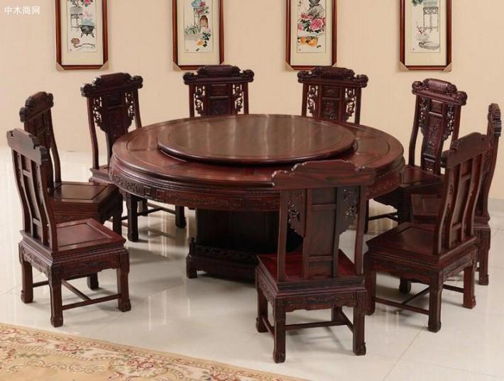 印尼黑酸枝餐桌多少钱