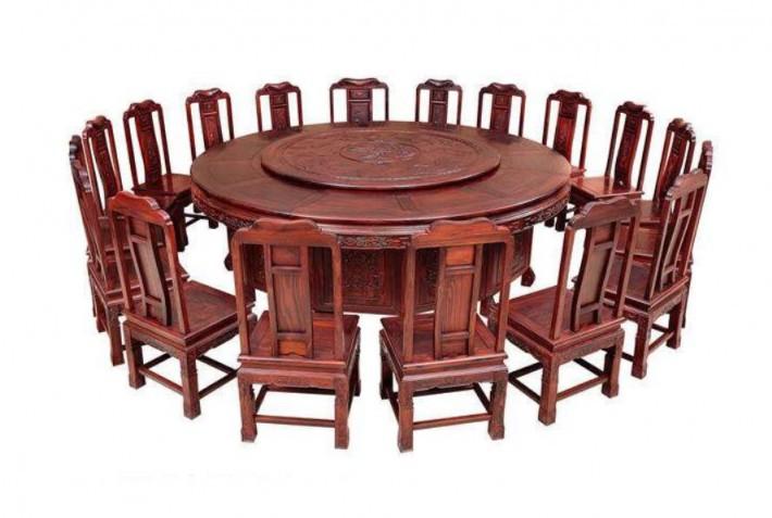 实木圆餐桌价格多少