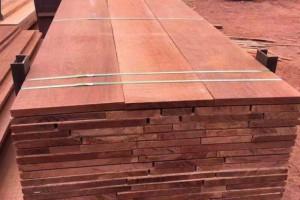 上海福人木材市场奥古曼、麦格利锯材价格多少钱_2020年1月17日