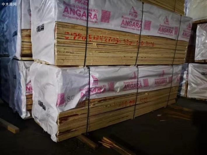 俄罗斯白松木板材的市场价格是多少