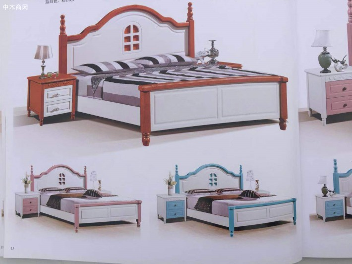 柞木实木床一般实木床价格多少钱