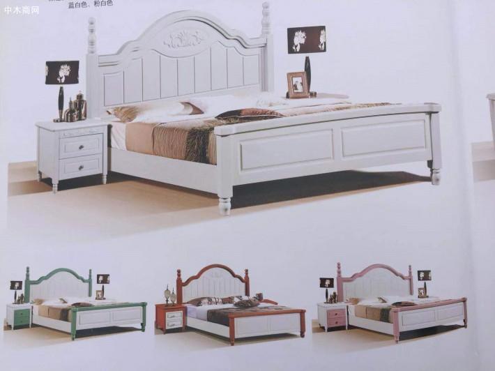 柳木实木床一般实木床价格多少钱