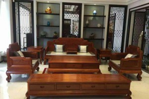 越南做工缅甸花梨红木家具质量好吗?