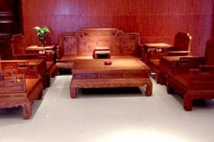 缅甸花梨木红木家具价格一套多少钱