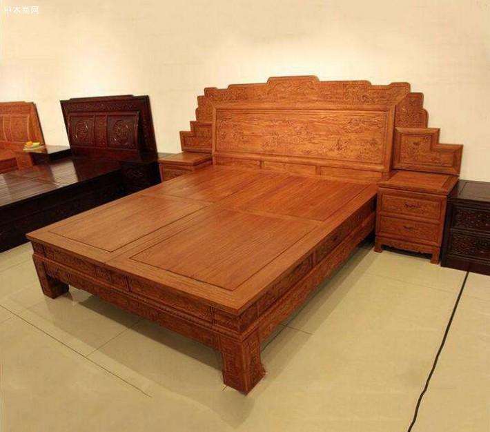 缅甸花梨木红木家具价格——木材种类