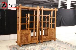 老榆木实木酒柜,玻璃酒柜,酒店酒柜,新古典装饰柜,一手货源