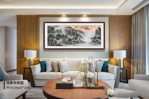 客厅沙发背景墙挂什么好?高雅品位都是这样装饰出来的!