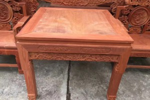 红木中堂六件套实木条案大果紫檀八仙桌缅花客厅家具太师椅六件套