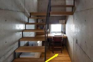 楼梯下方最适合做什么?可以装修成下沉式书房吗?