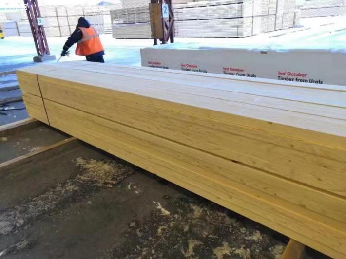 俄罗斯US出口级白松木板材图片