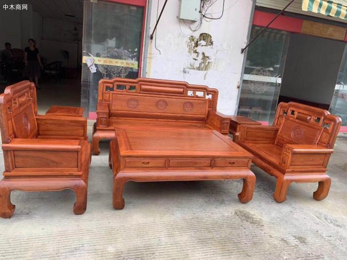 缅甸花梨木沙发批发