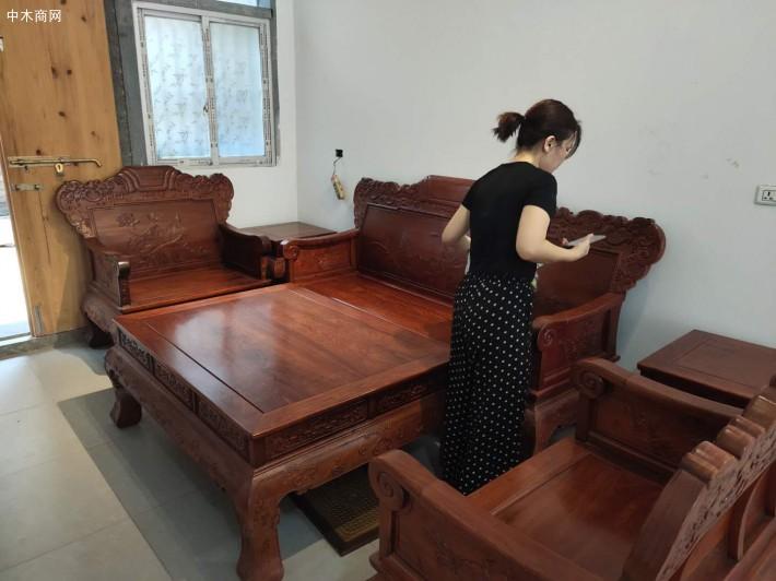 缅甸花梨红木沙发品牌
