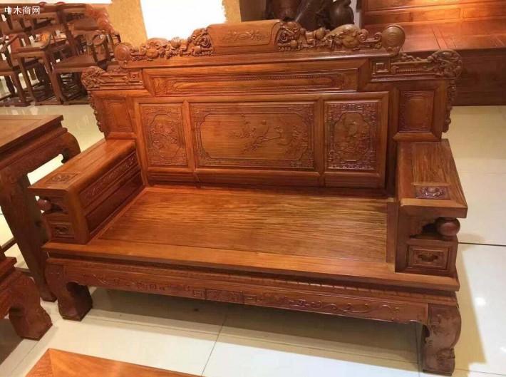 缅甸花梨木沙发6件套价格一般大概多少钱?