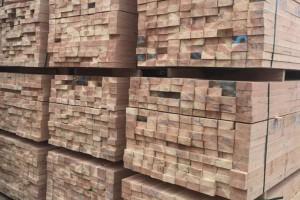 建筑工程木方辐射松铁杉澳松樟子松木材加工厂家直销