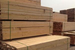 苏州厂家直销建筑木方铁杉精方家具材包装材
