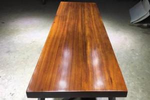 非洲花梨大板实木板材原木整块桌面电视柜吧台茶几茶台大木板现货