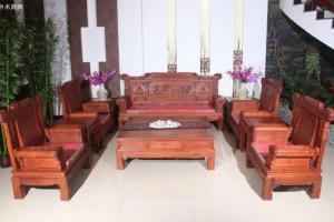真假缅甸花梨沙发最简单的鉴定细节方法大全