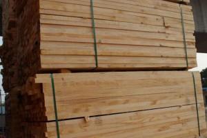 铁杉建筑木方,多片锯加工,木方刨光料