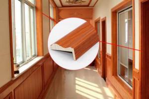 高温热压贴皮门套线可贴任何天然木皮门套线