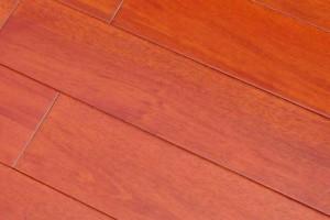 供应桃花芯实木地板