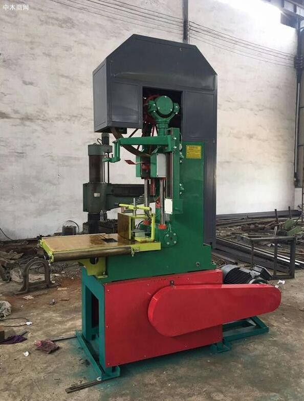 立式木匠带锯机锯条安置提防事项和做事道理先