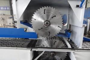 变频自动控制圆木多片锯机图片