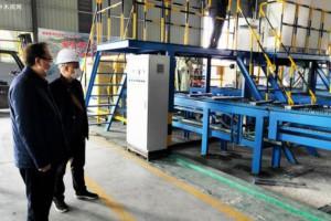 广西省平果县林业局深入指导木材加工企业复工复产工作