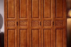 缅甸柚木衣柜