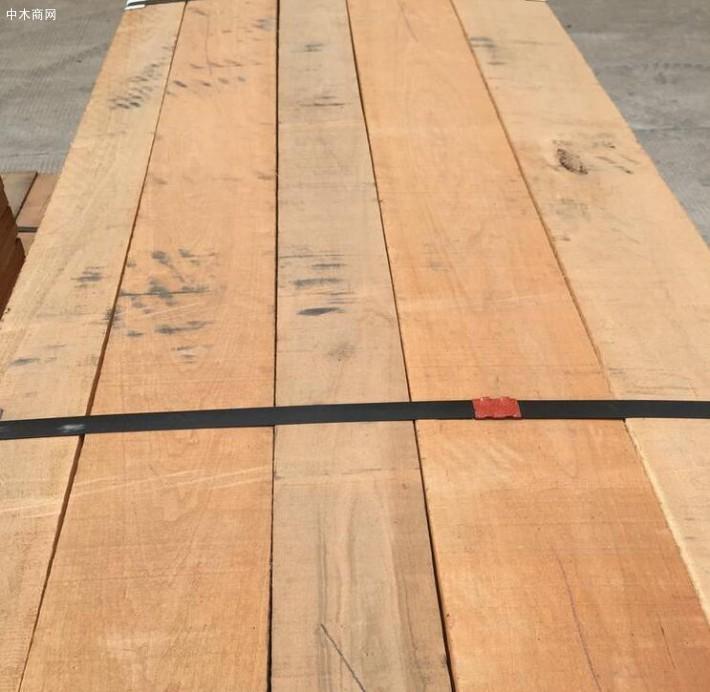 美国红橡木板材价格多少钱一立方米?
