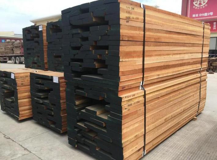 美国红橡木板材价格多少钱一立方米图片