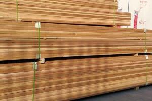 上海梓木实业加拿大红雪松木板材产品图片