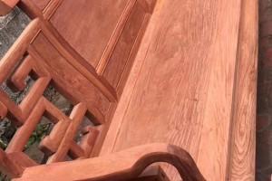 大富贵缅甸花梨木沙发:10件套脚12公分