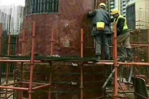 深圳园林古建圆木模,木圆建筑模板,异型模板厂家供应