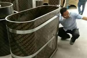 深圳圆柱模板厂家供应,L形异型模板,S形异型建筑模板