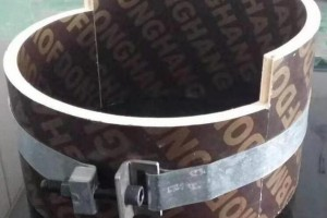 木质圆模板的生产工艺